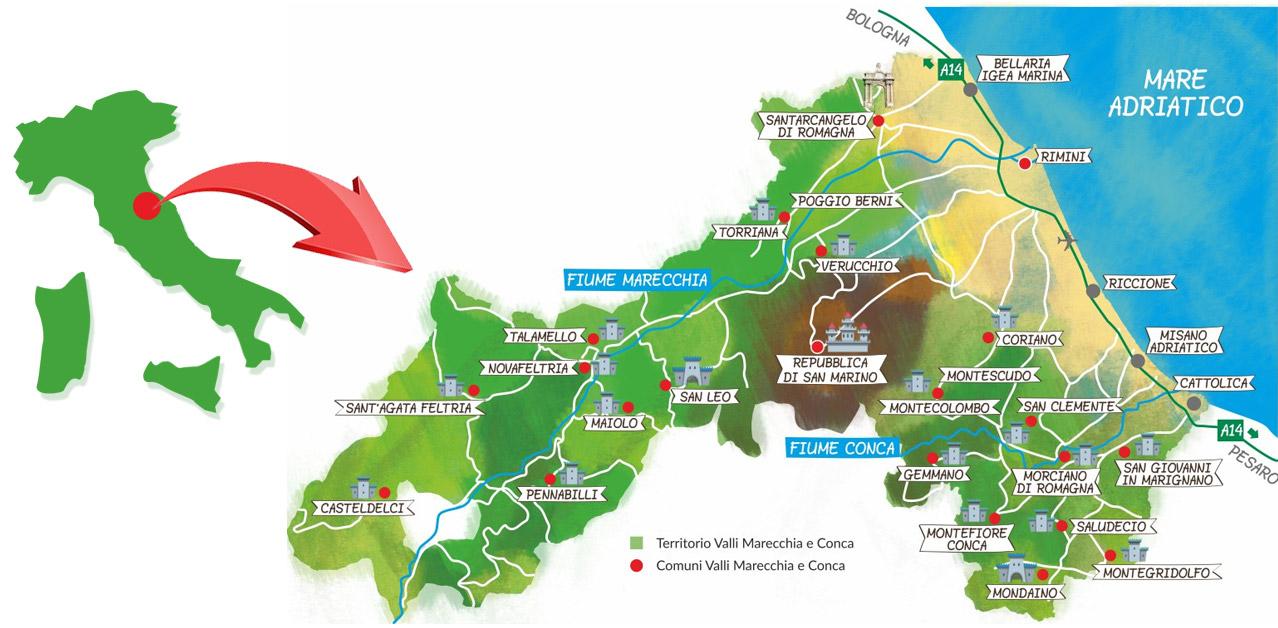 mappa-italia-valmarecchia-valconca